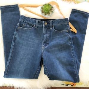 UNIQLO HIGH RISE SKINNY JEANS SIZE 25